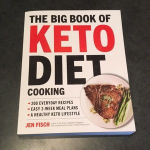 Keto cookbook filled with easy recipes!